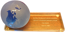 AILA Edith M, Lowenstein Memorial Award - 1995